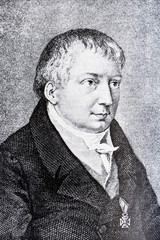 Portrait of the philosopher Friedrich Schlegel