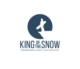 King of the snow badge