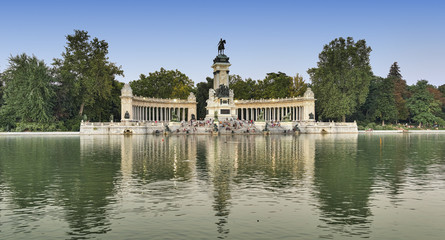 Madrid (Spain): Park of Buen Retiro