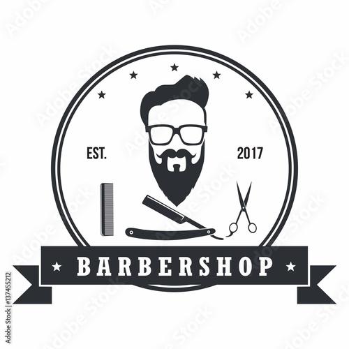 quotbarber shop badges vintage design elements logo labels