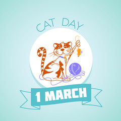 1 March cat day
