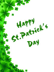St. Patrick's greeting card