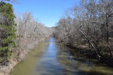 Bear Creek in Tishomingo State Park Mississippi