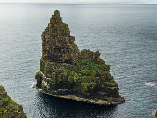 Sea stack at Duncansby Head; Scotland
