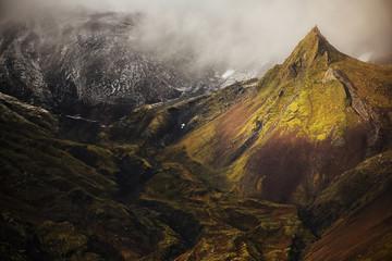 Volcanic landscape on Snaefellsness Peninsula, Iceland Fototapete