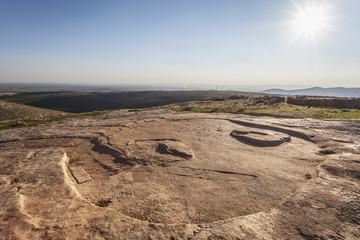 Ancient ruins of the oldest civilization; Gobekli Tepe, Turkey