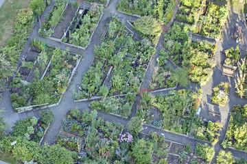 Community gardens; Vancouver, British Columbia, Canada
