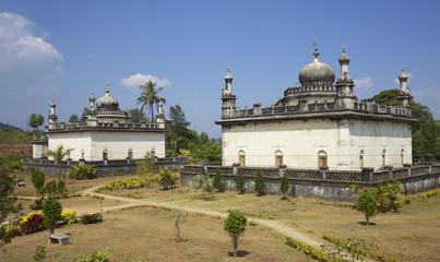 Domed-roofed Indo- Sarcenic raja tombs of Kodava kings