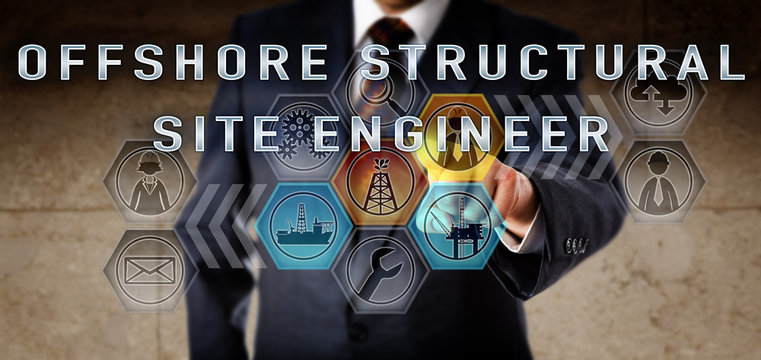 Man Pressing OFFSHORE STRUCTURAL SITE ENGINEER
