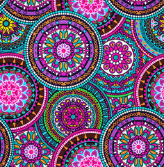 Hippie mandala pattern