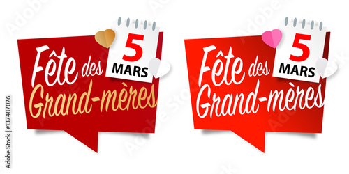 F te des grand m res 5 mars 2017 stock image and royalty free vector files on - Fete des grands meres en 2017 ...