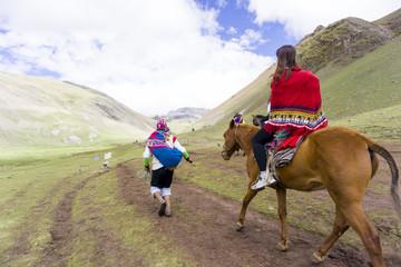 The Rainbow mountains of Peru