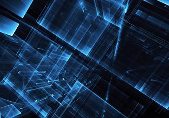 Abstract technology illustration