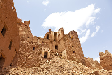 Alte Ruine in Marrokko