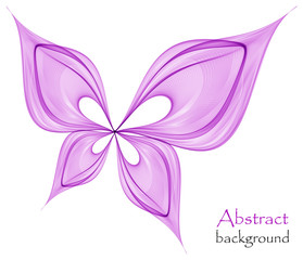 Logo abstract butterfly