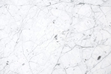 High quality white marble.