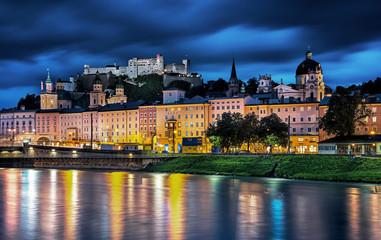 View on Salzburg