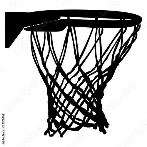 Basketball net clipart