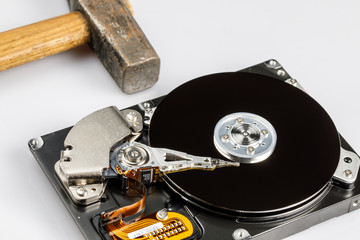 hard drive disk and hammer repair
