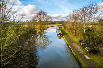 Canal in Northamptonshire
