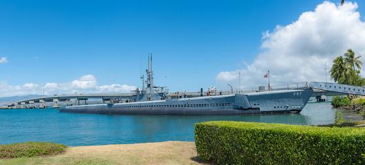 The USS Arizona Memorial in Hawaii USA