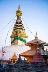 Swayambhunath - monkey temple in Nepal