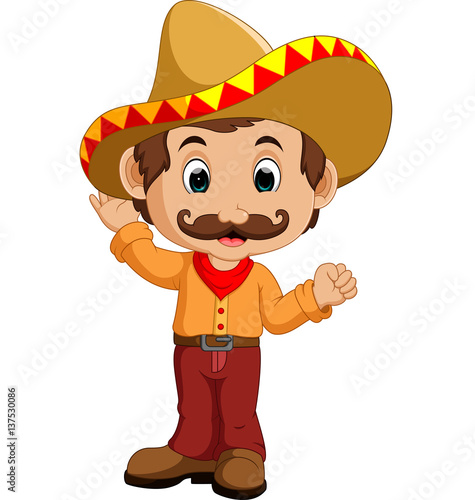 quotmexican cartoon characterquot stock image and royaltyfree