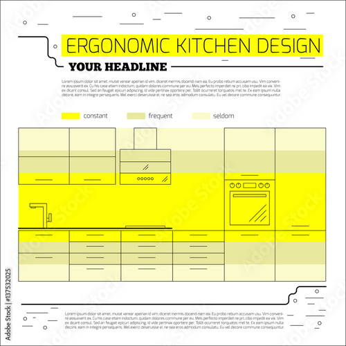 Ergonomic Kitchen Design Best Decorating Ideas