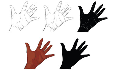 hand action, hand activity, hand signal