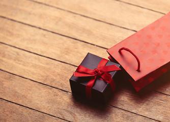 gift and bag