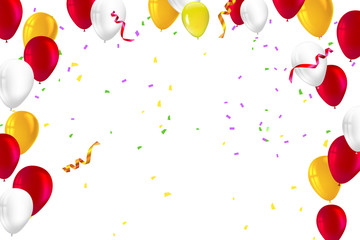 Birthday background photos royalty free images graphics vectors festive background for greeting cards presentations commercial ad with color inflatable balloons and m4hsunfo