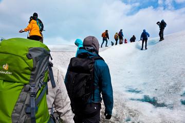 Gletscherwanderung in Patagonien