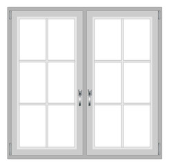 Modern window isolated on white background, with copy space vector eps 10