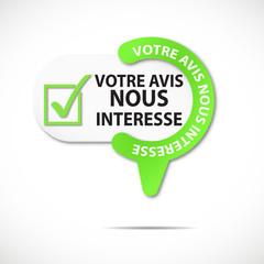épingle bouton web : votre avis nous intéresse