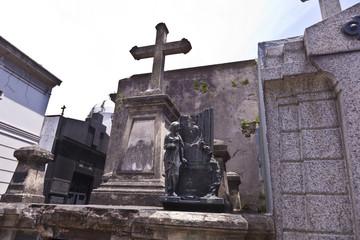 Friedhof La Recoleta in Buenos Aires / Argentinien