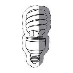 city bulb energy icon image, vector illustration design