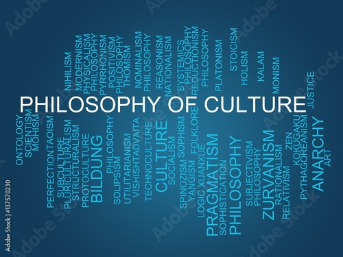 "Philosophy of culture"" Stock p..."