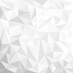 Серый оригинальный тригональный абстрактный фон. Векторная иллюстрация для вашего дизайна.