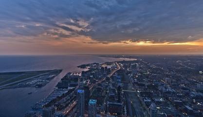Toronto von oben - CN Tower