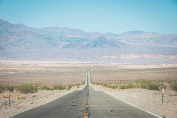 Road in Death Valley National Park, California