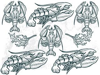 lojbster sea food element