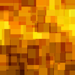 Оригинальный, абстрактный золотой, коричневый фон для Вашего дизайна. Векторная иллюстрация.