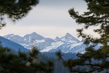 Mountain Landscape in Sierra Nevada