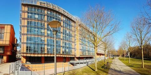 Photo Panoramique du Quartier de la Cité Internationale de Lyon
