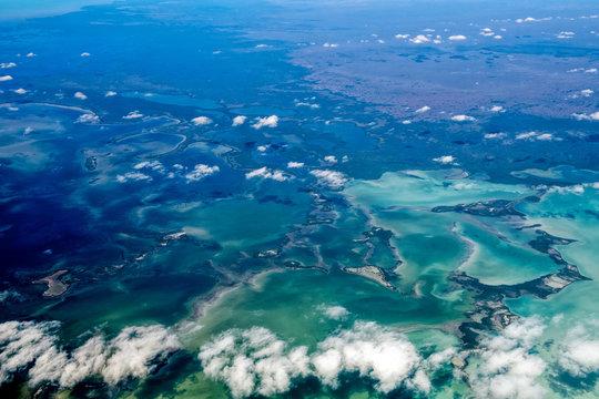 Florida Miami aerial view panorama landscape