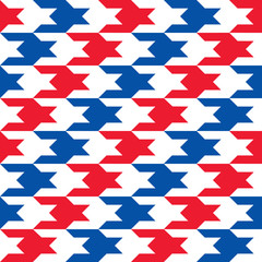 Patriotic Houndstooth 2