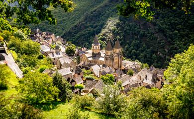 Village médiéval de Conques, Aveyron