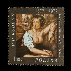Postage Stamp isolated