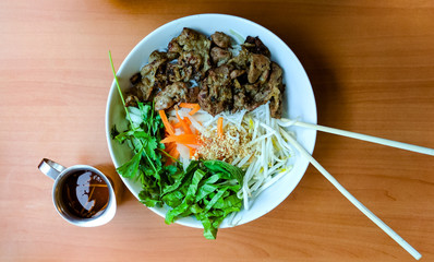 Vietnamese Pork and Noodles