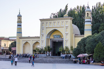 Kashgar Id Kah Mosque, Xinjiang, China